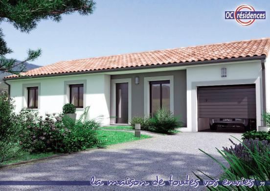 Maison+Terrain à vendre .(100 m²)(RENNEVILLE) avec (OC RESIDENCES)
