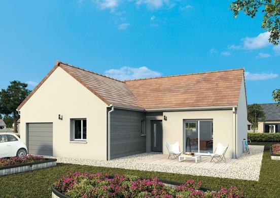 Maison+Terrain à vendre .(105 m²)(MESSON) avec (MAISONS FRANCE CONFORT)