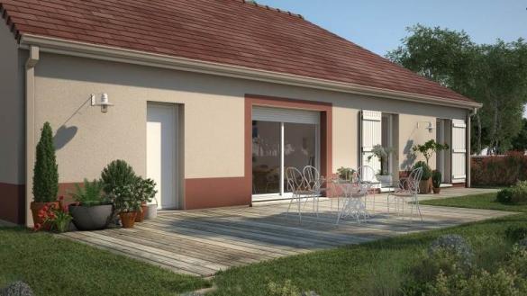 Maison+Terrain à vendre .(90 m²)(SOULAINES DHUYS) avec (MAISONS FRANCE CONFORT)