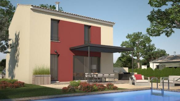 Maison+Terrain à vendre .(82 m²)(MILHAUD) avec (LES MAISONS DE MANON)