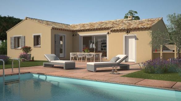Maison+Terrain à vendre .(90 m²)(COLLORGUES) avec (LES MAISONS DE MANON)