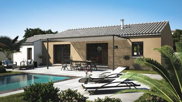 Maison+Terrain à vendre .(90 m²)(COMBAS) avec (LES MAISONS DE MANON)