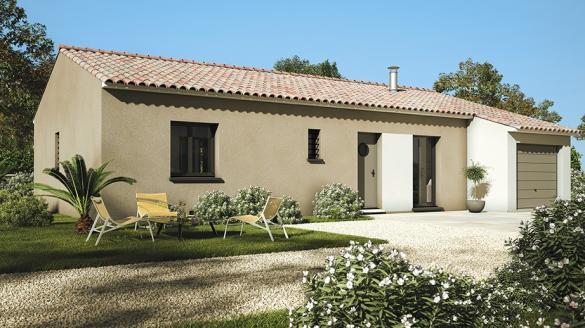 Maison+Terrain à vendre .(80 m²)(BELLEGARDE) avec (LES MAISONS DE MANON)
