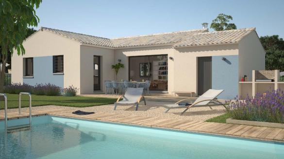 Maison+Terrain à vendre .(90 m²)(SAINT GILLES) avec (LES MAISONS DE MANON)