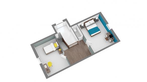 Maison+Terrain à vendre .(101 m²)(MONTIGNY EN GOHELLE) avec (HABITAT CONCEPT LENS)
