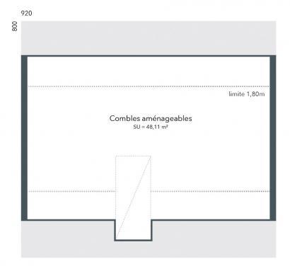 Maison+Terrain à vendre .(60 m²)(SACY LE GRAND) avec (MAISONS FRANCE CONFORT)