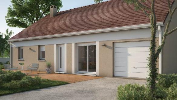 Maison+Terrain à vendre .(65 m²)(GUYENCOURT SAULCOURT) avec (MAISONS FRANCE CONFORT)