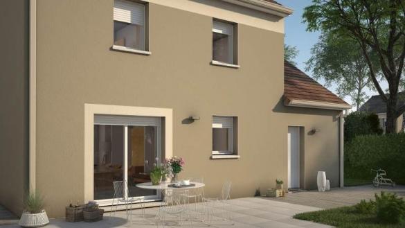 Maison+Terrain à vendre .(74 m²)(LE THILLAY) avec (MAISONS FRANCE CONFORT)