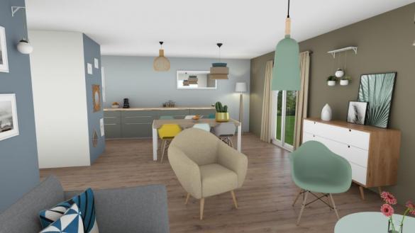 Maison+Terrain à vendre .(78 m²)(PUGET VILLE) avec (MAISONS FRANCE CONFORT)