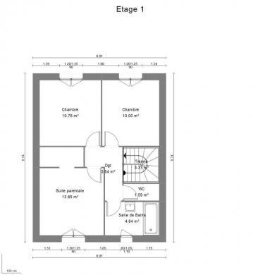 Maison+Terrain à vendre .(100 m²)(DINGY EN VUACHE) avec (MAISON FRANCE CONFORT)