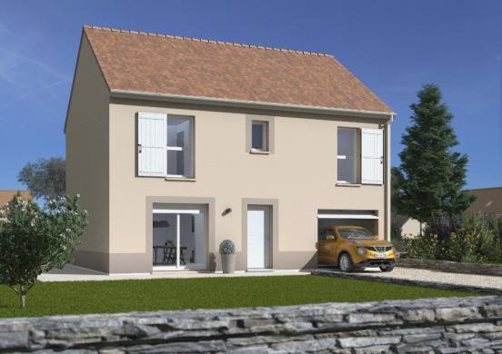Maison+Terrain à vendre .(109 m²)(MONTCEAUX LES MEAUX) avec (MAISONS FRANCE CONFORT)