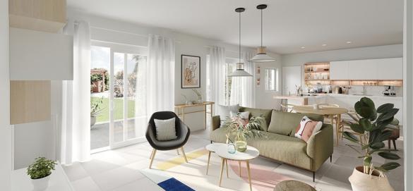 Maison+Terrain à vendre .(95 m²)(VIEILLE EGLISE) avec (MAISONS FRANCE CONFORT)