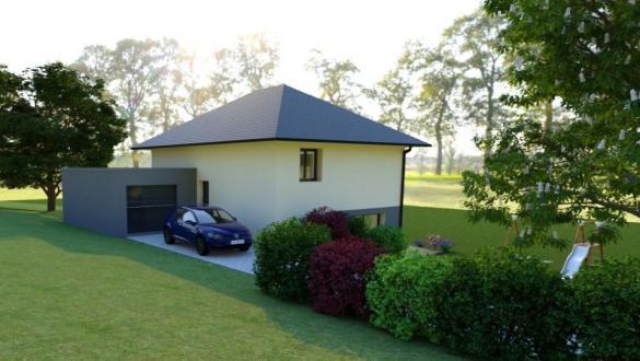 Maison+Terrain à vendre .(110 m²)(SAINT GENIX SUR GUIERS) avec (MAISONS FRANCE CONFORT)