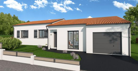 Maison+Terrain à vendre .(102 m²)(SAINT JUST LE MARTEL) avec (MAISONS ARLOGIS LIMOGES)