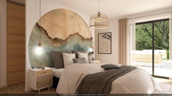 Maison+Terrain à vendre .(93 m²)(RILHAC RANCON) avec (MAISONS ARLOGIS LIMOGES)