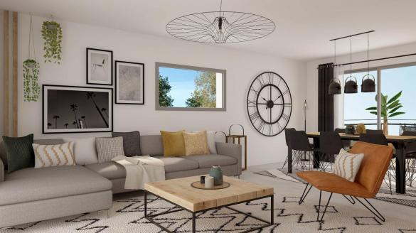 Maison+Terrain à vendre .(106 m²)(LIMOGES) avec (MAISONS ARLOGIS LIMOGES)