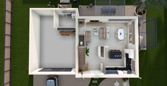 Maison+Terrain à vendre .(102 m²)(RILHAC RANCON) avec (MAISONS ARLOGIS LIMOGES)