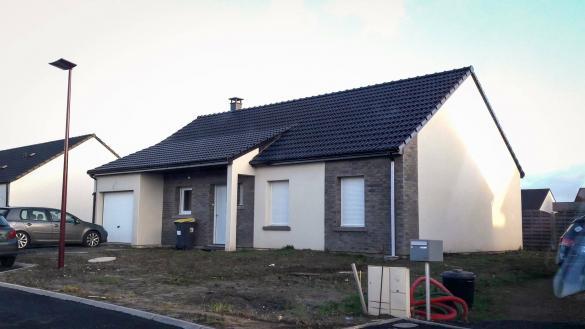 Maison+Terrain à vendre .(88 m²)(BAPAUME) avec (HABITAT CONCEPT NEUVILLE ST REMY)