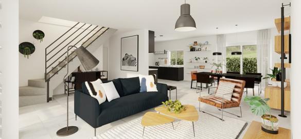 Maison+Terrain à vendre .(115 m²)(TERTRY) avec (MAISONS FRANCE CONFORT)