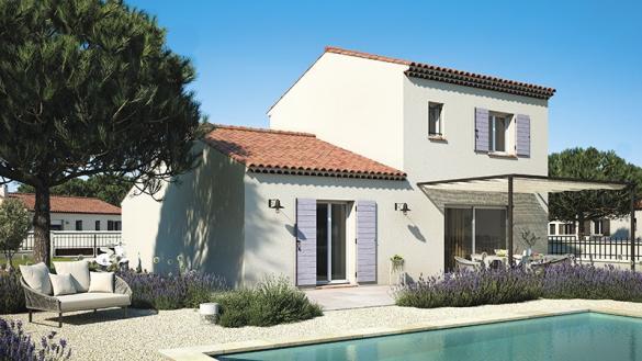 Maison+Terrain à vendre .(95 m²)(COTIGNAC) avec (LES MAISONS DE MANON)
