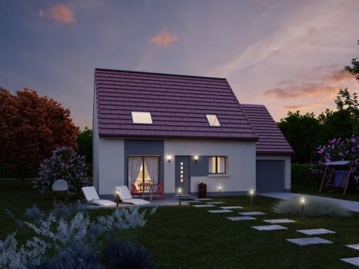 Maison à vendre .(102 m²)(TELOCHE) avec (IDEAL LOGIS)