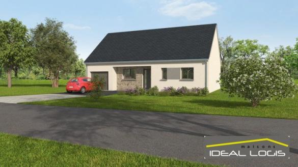 Maison à vendre .(83 m²)(GUECELARD) avec (IDEAL LOGIS)