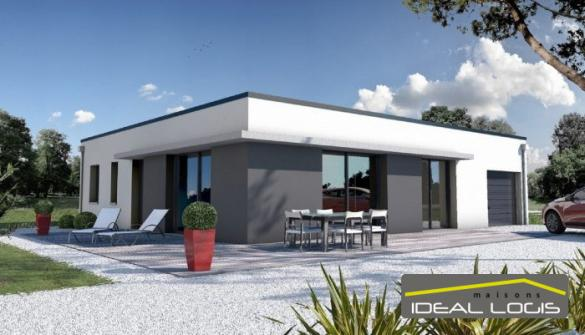 Maison à vendre .(92 m²)(SAINTE JAMME SUR SARTHE) avec (IDEAL LOGIS)