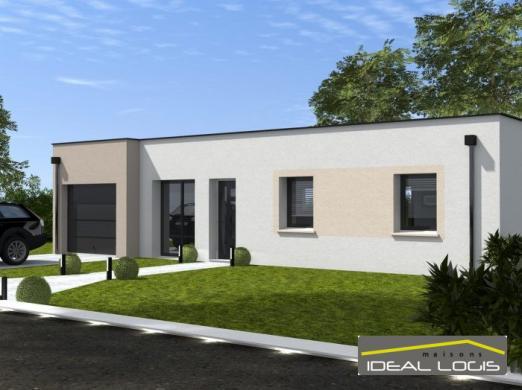 Maison à vendre .(97 m²)(SAINTE JAMME SUR SARTHE) avec (IDEAL LOGIS)