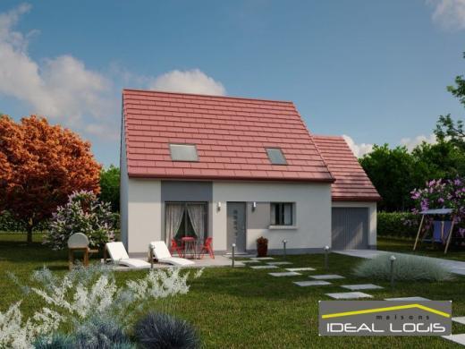 Maison à vendre .(102 m²)(SAINTE JAMME SUR SARTHE) avec (IDEAL LOGIS)