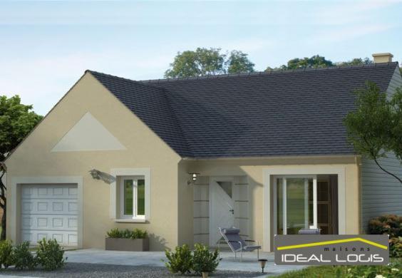 Maison à vendre .(73 m²)(VILLAINES SOUS MALICORNE) avec (IDEAL LOGIS)