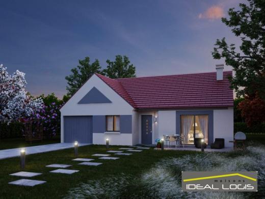 Maison à vendre .(76 m²)(SAINTE JAMME SUR SARTHE) avec (IDEAL LOGIS)