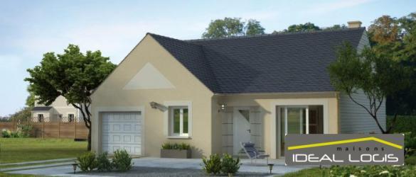 Maison à vendre .(73 m²)(TELOCHE) avec (IDEAL LOGIS)