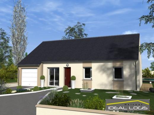 Maison à vendre .(91 m²)(TELOCHE) avec (IDEAL LOGIS)