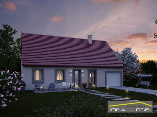 Maison à vendre .(97 m²)(SAINT PAVACE) avec (IDEAL LOGIS)