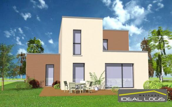 Maison à vendre .(112 m²)(TELOCHE) avec (IDEAL LOGIS)