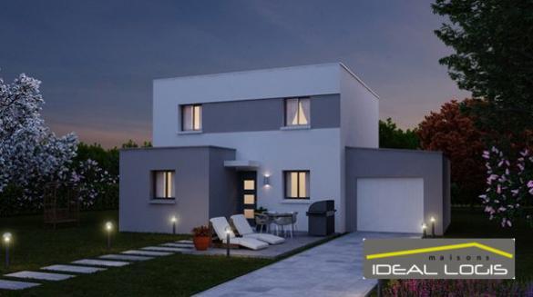 Maison à vendre .(122 m²)(BRAINS SUR GEE) avec (IDEAL LOGIS)