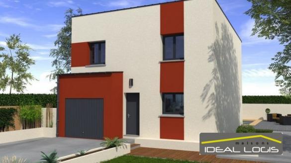 Maison à vendre .(89 m²)(BRAINS SUR GEE) avec (IDEAL LOGIS)