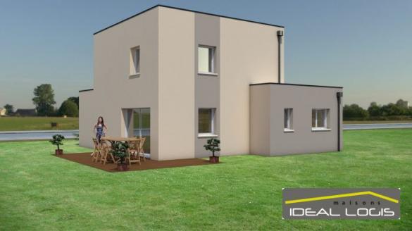 Maison à vendre .(100 m²)(SAINT PAVACE) avec (IDEAL LOGIS)