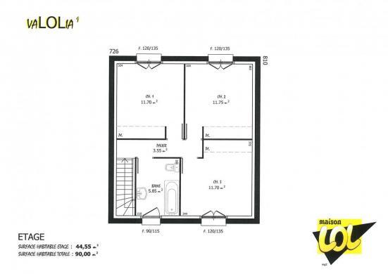 Maison à vendre .(90 m²)(TIGERY) avec (MAISON LOL)