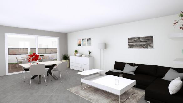 Maison à vendre .(102 m²)(CROISSY BEAUBOURG) avec (MAISON LOL)