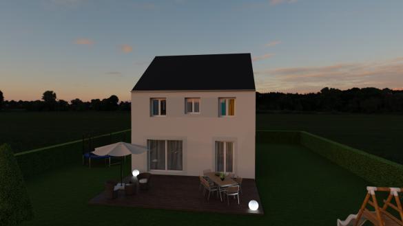 Maison à vendre .(95 m²)(CRECY LA CHAPELLE) avec (MAISON LOL)