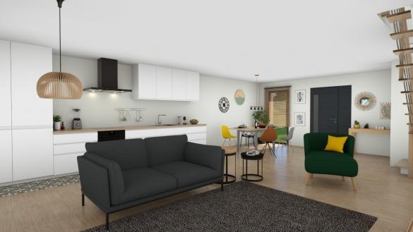 Maison à vendre .(74 m²)(VILLABE) avec (MAISON LOL)