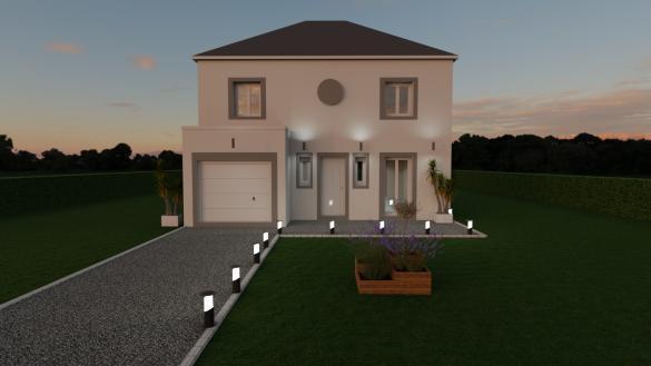 Maison à vendre .(108 m²)(CHAILLY EN BIERE) avec (MAISON LOL)