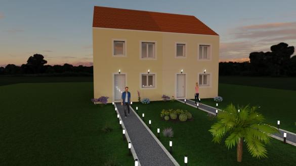 Maison à vendre .(90 m²)(VAUX LE PENIL) avec (MAISON LOL)