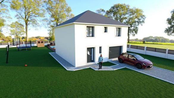 Maison à vendre .(105 m²)(SAINT GERMAIN LES ARPAJON) avec (MAISON LOL)