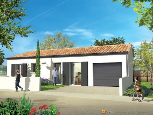 Maison+Terrain à vendre .(79 m²)(SAINTES) avec (MAISONS ACCO)