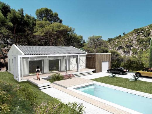 Maison à vendre .(90 m²)(SAINT ZACHARIE) avec (Villas La Proven�e - Agence de Marignane)