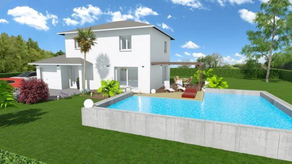 Maison à vendre .(105 m²)(SAINT THEOFFREY) avec (CREAVILLA 38)