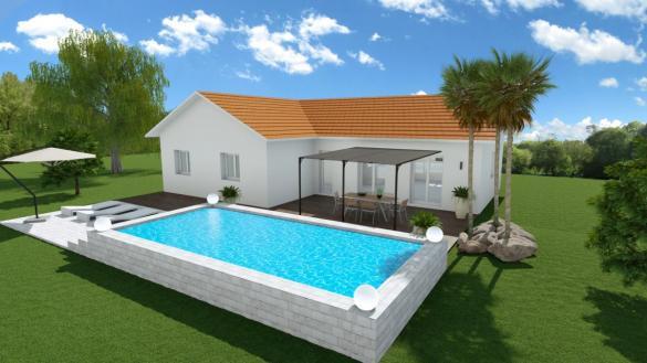 Maison à vendre .(100 m²)(GILLONNAY) avec (CREAVILLA 38)