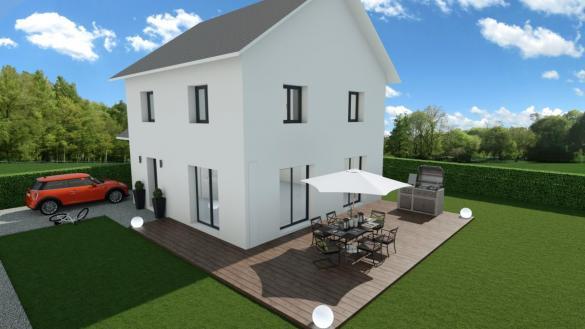 Maison à vendre .(90 m²)(SAINT GEORGES DE COMMIERS) avec (CREAVILLA 38)